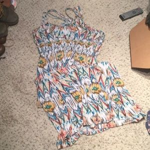 Multi Colored Maxi Dress Size XL